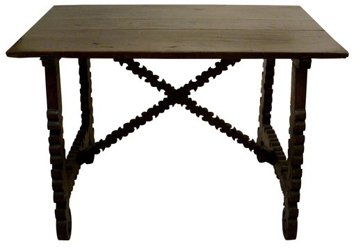 Tavolo fratino, XVII secolo