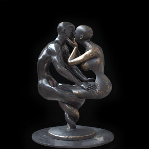 Franck KUMAN - Escultura - Loyalty