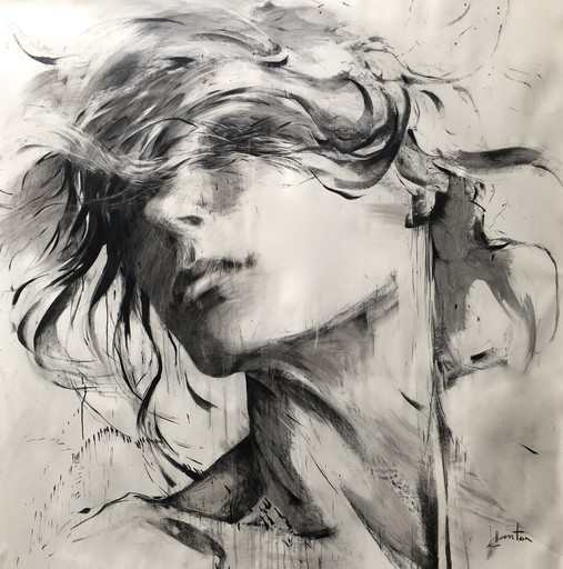 Ewa HAUTON - Pintura - L'instant