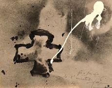 Antoni TAPIES - Peinture - CREU NEGRE