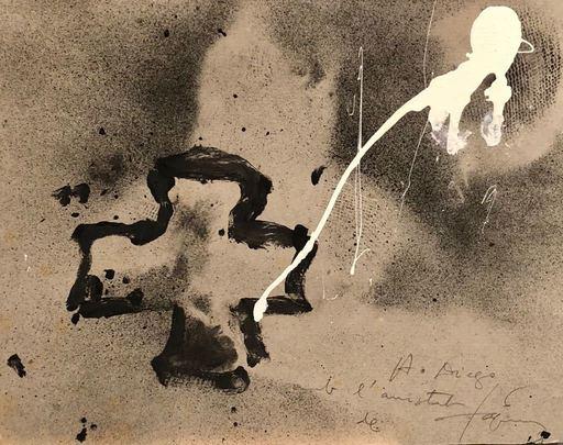 Antoni TAPIES - Pintura - CREU NEGRE