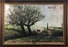 Bernard BUFFET - Painting - Environ des Ponts Bretagne