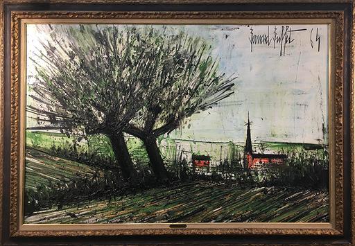 Bernard BUFFET - Pittura - Environ des Ponts Bretagne