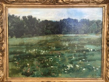 费迪南德•霍德勒 - 绘画 - Paysage avec clairière