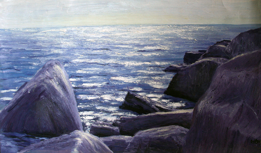 Valeriy NESTEROV - Gemälde - Crimea. Sunny day