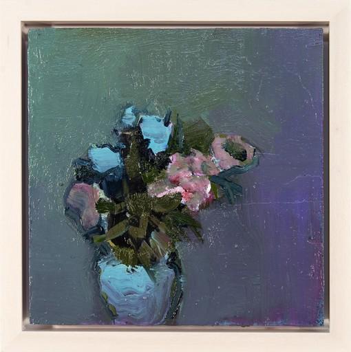 Jennifer HORNYAK - Painting - Blue Pimpernel