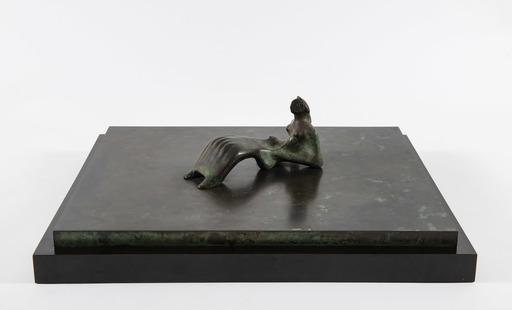 亨利•摩尔 - 雕塑 - Reclining figure: Bone skirt