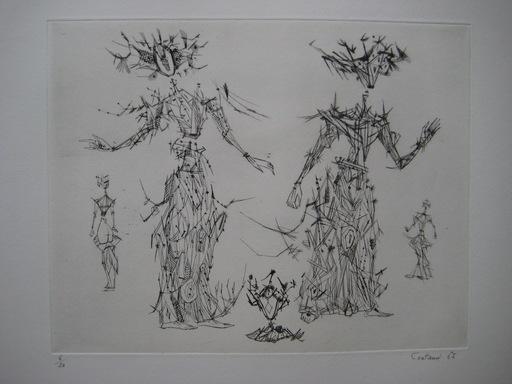 Lucien COUTAUD - Stampa-Multiplo - GRAVURE 1965 SIGNÉE CRAYON NUM/30 HANDSIGNED NUMB ETCHING