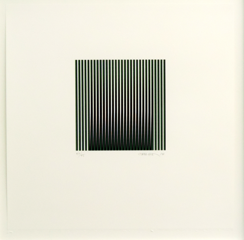 Carlos CRUZ-DIEZ - Estampe-Multiple - Induction du rouge