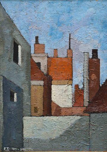 Francesco TABUSSO - Painting - Delft