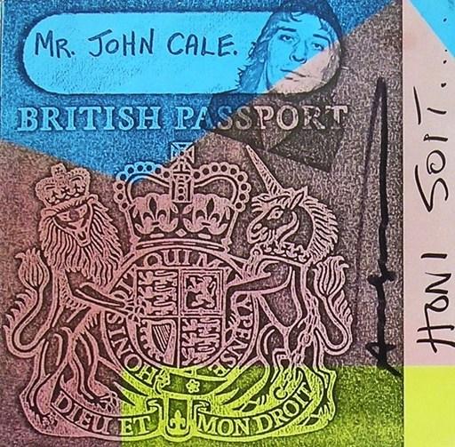 Andy WARHOL - Print-Multiple - JOHN CALE - Honi Soit