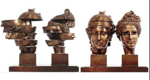Fernandez ARMAN - Sculpture-Volume - Tete A Tete