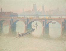 Emile CLAUS (1849-1924) - Pont à Londres