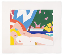 Tom WESSELMANN (1931-2004) - Sunset Nude With Yellow Tulips