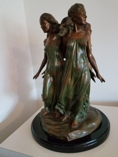 Frederick Elliot HART - Sculpture-Volume - Daughters of Odessa (THIRD-life)
