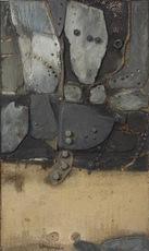 Jaap WAGEMAKER - Painting - Fleuve de Nuit (Night River)
