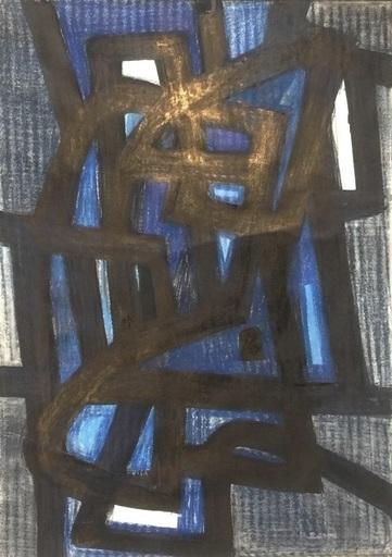 Jean SIGNOVERT - Gemälde - Hommage to Jean-Michel Atlan (1913-1960)