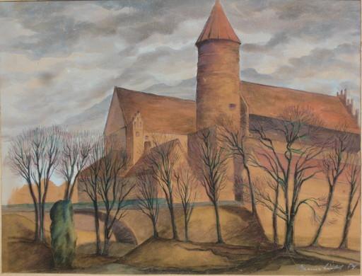Hans LICHT - 绘画 - Burg Allenstein