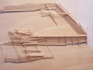 川俣正 - 雕塑 - Mallorca Project Plan 1