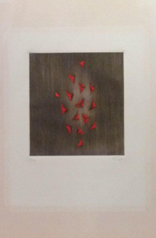 Arthur Luiz PIZA - Print-Multiple - Eclat du rouge