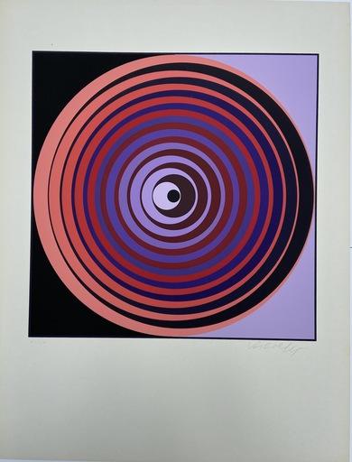 Victor VASARELY - Grabado - Cinétique 2 - Sérigraphie - 1965