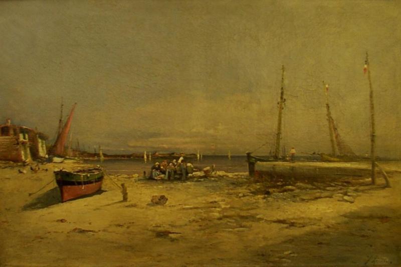 Josef REINER - Pittura - Paysage de Bretagne.
