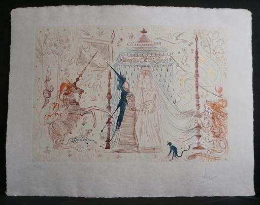 萨尔瓦多·达利 - 版画 - Gala, mon seul desir