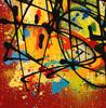 NEBAY - Painting - Colorfull Fight