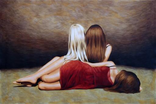 Erlend STEINER LOVISA - Pintura - Janne en Floor    (Cat N° 5933)