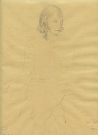 Mariette LYDIS - Dibujo Acuarela - DESSIN AU CRAYON SUR CALQUE SIGNÉ ML HANDSIGNED ML DRAWING