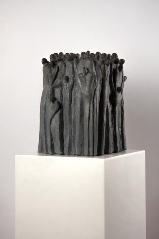 Heinz P. NITZSCHE - Sculpture-Volume - Zusamenrücken I