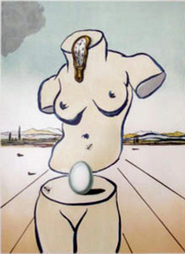 Salvador DALI - Estampe-Multiple - Birth of Venus