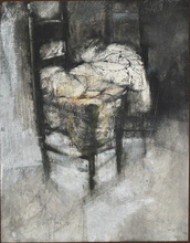 Renzo VESPIGNANI - Painting - la sedia