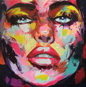Françoise NIELLY - Painting - Jess