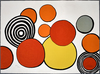 Alexander CALDER - Estampe-Multiple - Composition II, from The Elementary Memory