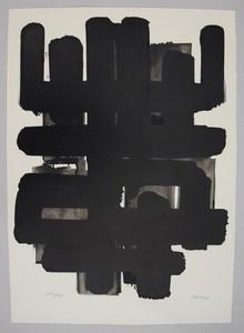 Pierre SOULAGES - Estampe-Multiple - Lithographie 3