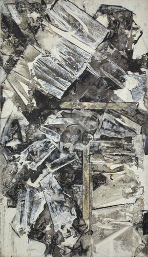 Alexandre ISTRATI - 绘画 - Composition Noir