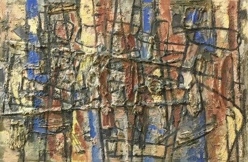 Yves JOUANNAUD - Gemälde - Sortez, filles de Sion, regardez le roi Salomon