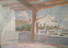 Eliseo MEIFRÉN ROIG - Pintura - la pergola
