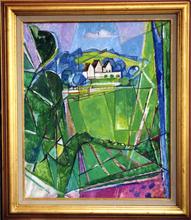Jacques DESPIERRE - Pintura - Le Pré II Chantilly