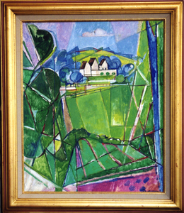Jacques DESPIERRE - Pittura - Le Pré II Chantilly