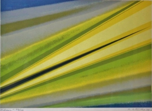 Rita LETENDRE - Estampe-Multiple - Asor, 1979