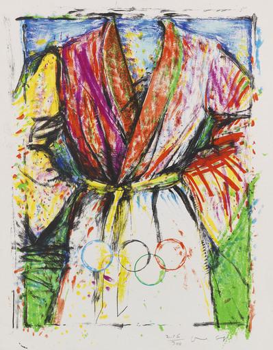 Jim DINE - Stampa-Multiplo - Olympic Robe
