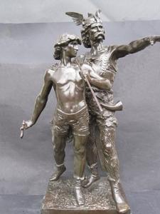 Émile LAPORTE - Escultura - Pro Patria.Départ en Guerre.
