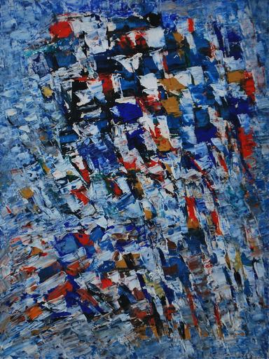 Jacques GERMAIN - Peinture - Composition, 1962