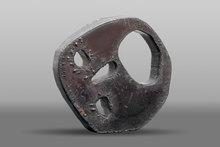 Menashe KADISHMAN - Sculpture-Volume - Head (Shalechet)
