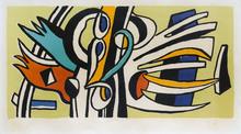 Fernand LÉGER - Grabado - Composition Murale