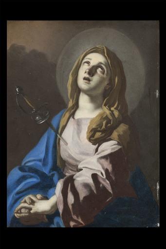 Giacomo CESTARO - Painting - Mater Dolorosa