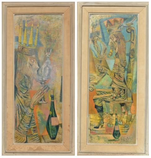 Leon D'USSEAU - Painting