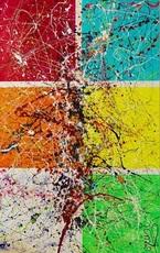 """Caroline VIS - Painting - """"Pirouette"""""""